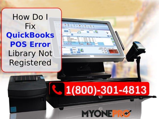 Library Not Registered QBPOS Error