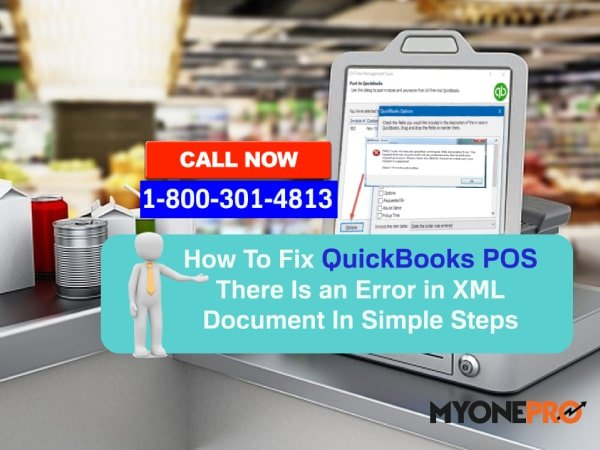 XML File Error QuickBooks Desktop Point of Sale