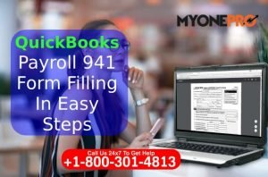 941 Form Detail QuickBooks