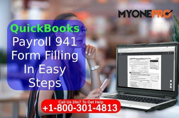 941 Form Detail QuickBooks