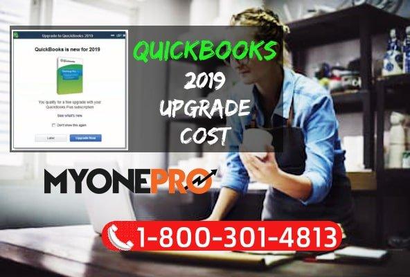 QuickBooks 2019 Upgrade Cost - Price Upgrading QB Pro