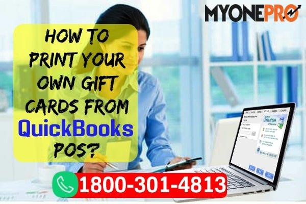 Printing Gift Code QBPOS