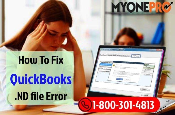 Working On QuickBooks .ND File Errors