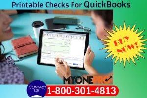 Order Now Printable Checks For QuickBooks Desktop