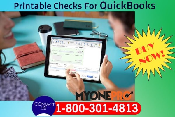 Order Now Printable Checks For QuickBooks Desktop