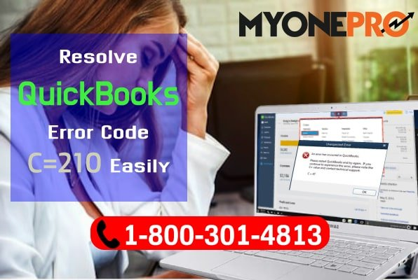 QuickBooks Desktop Error Code C=210 Easily