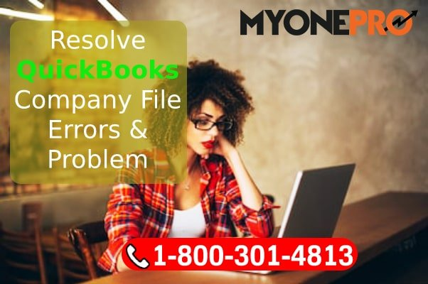 QuickBooks Desktop Company File Problem