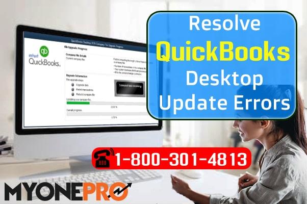 Upgrade Error QuickBooks Desktop