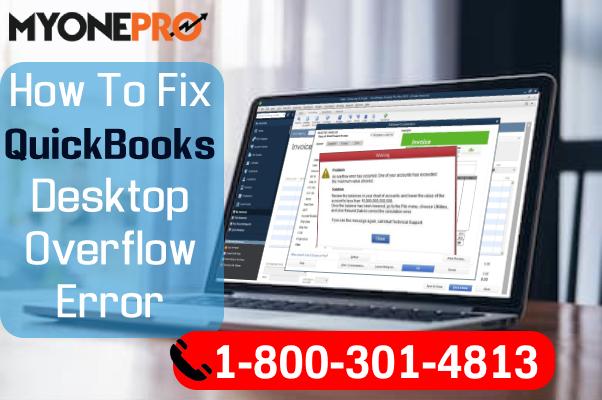 QuickBooks Overflow Error Soultions