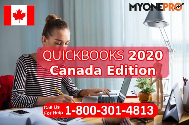 QuickBooks Cananda 2020 Desktop