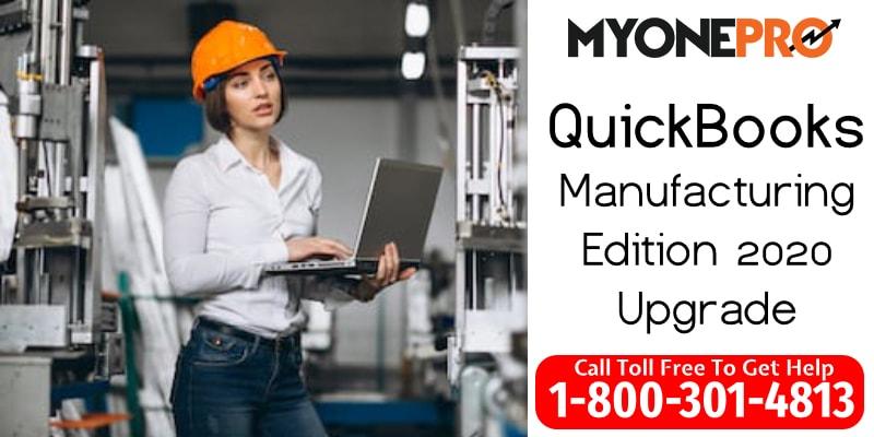 2020 QuickBooks Desktop Manufacturing
