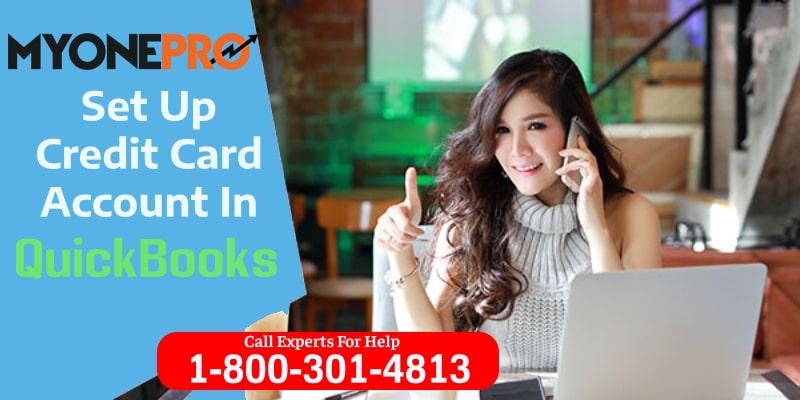 Set Up Credit Card Account QuickBooks Desktop