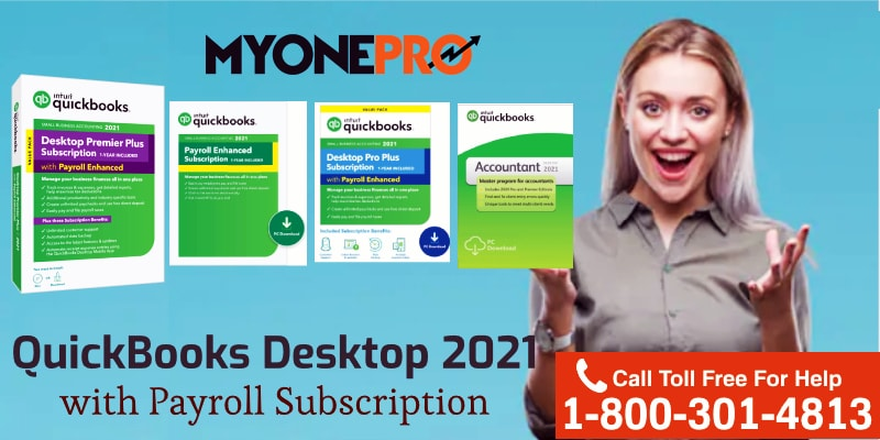 Payroll Option in QuickBooks Desktop 2021