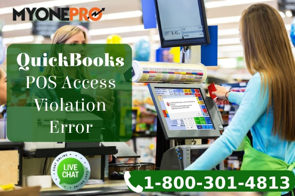 POS Machine QuickBooks Access Violation Error Message