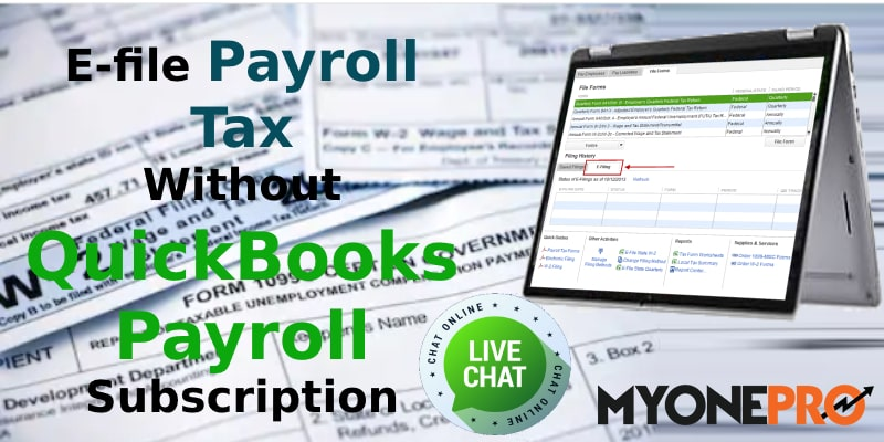 Payroll Tax Filing With QuickBooks Payroll