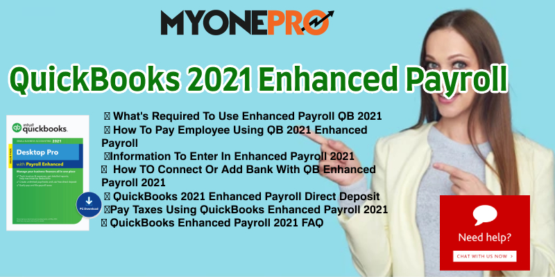 QuickBooks 2021 Enhanced Payroll Guide