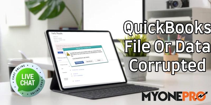 Data Corrupted QuickBooks Desktop