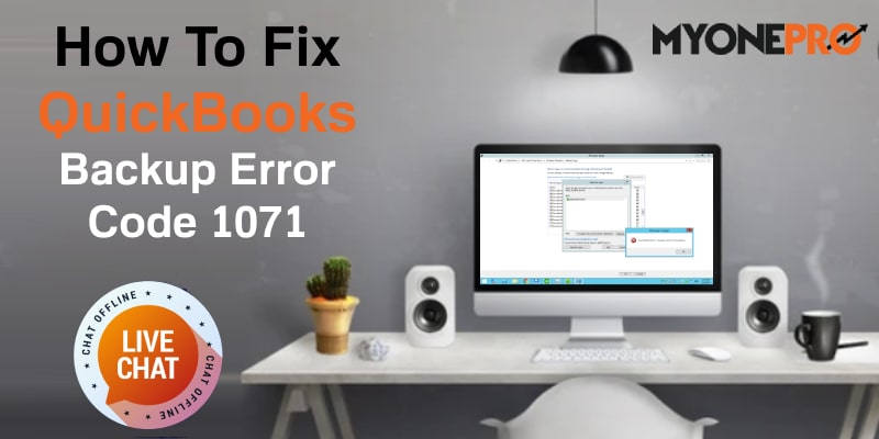 QB Backup Error 1071