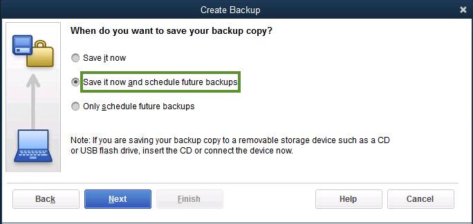 QB Backup Flash Drive
