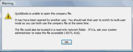 QuickBooks Company File Deleted